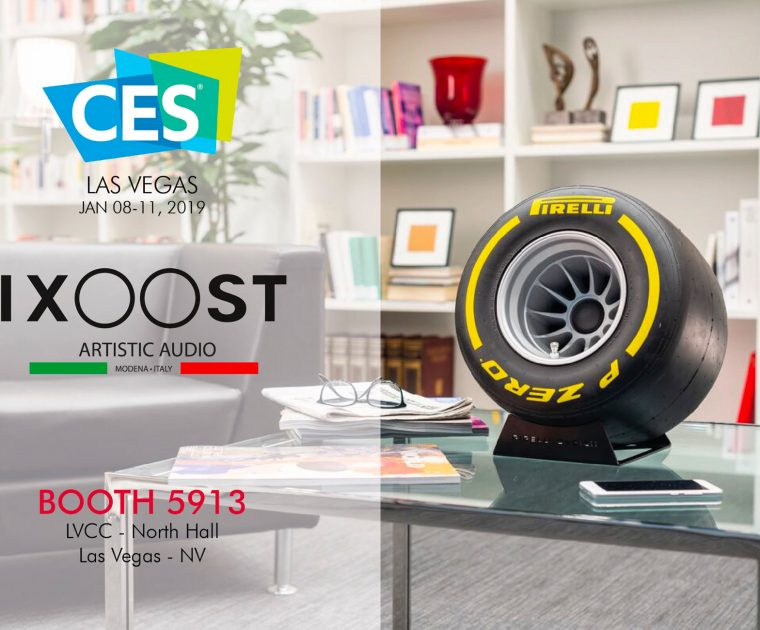 IXOOST home sound system at CES Las Vegas
