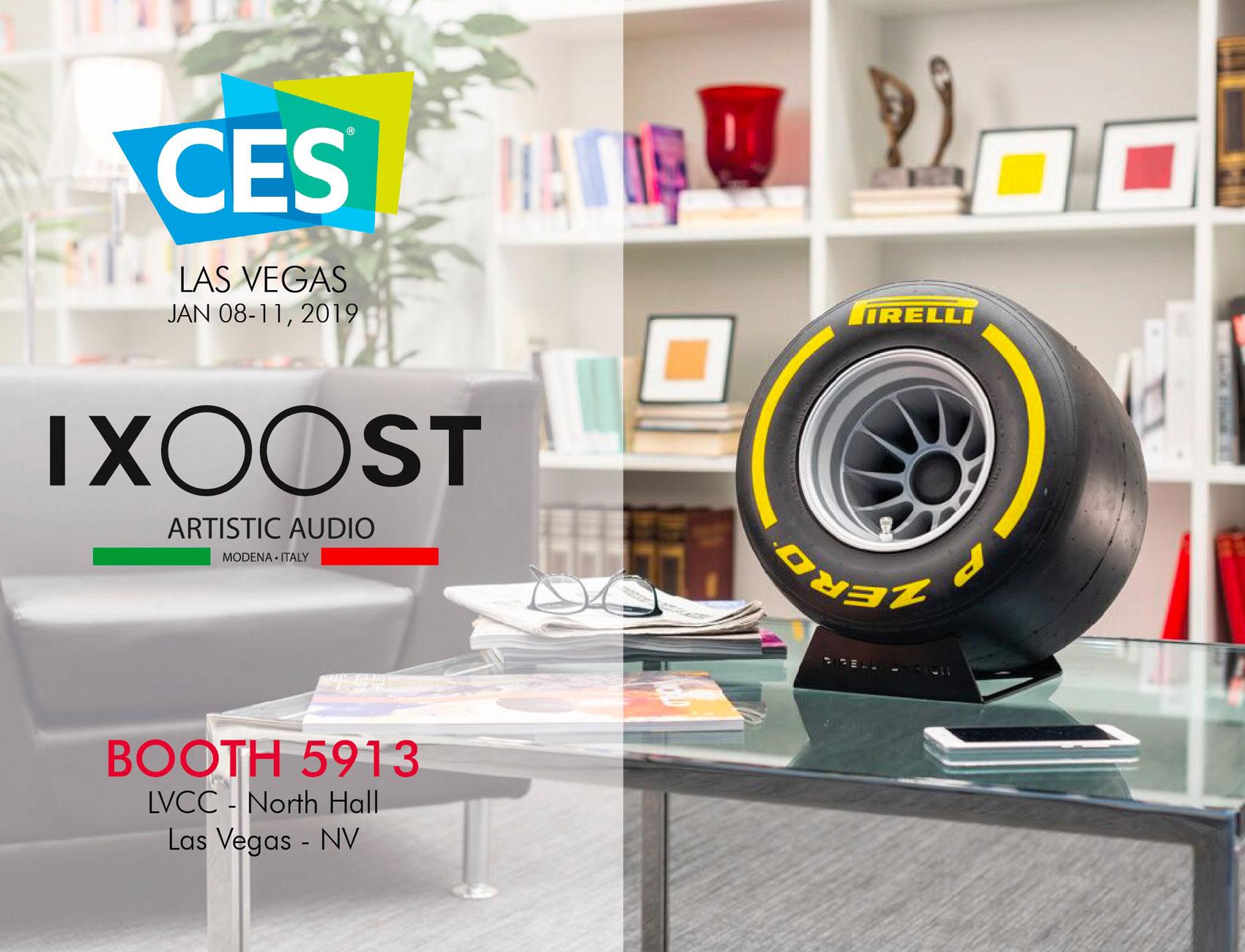 iXOOST impianti stereo di design al CES di Las Vegas