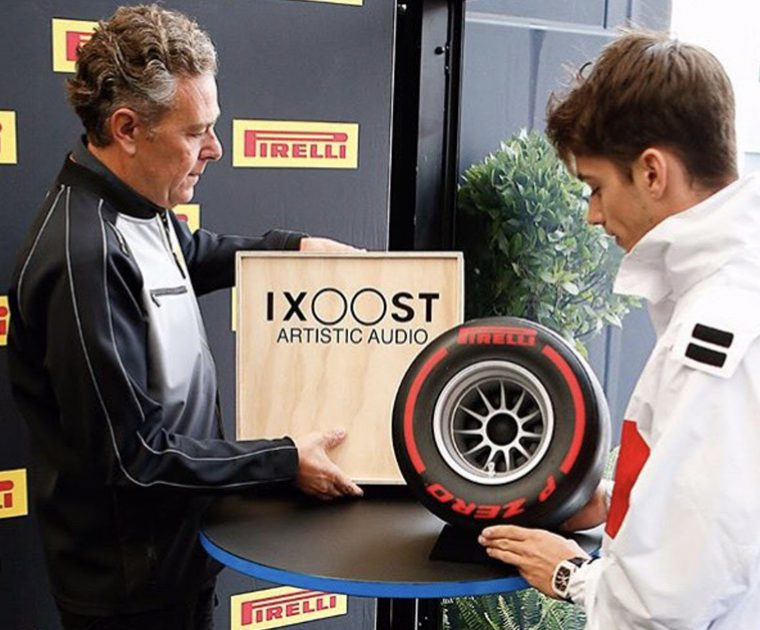 iXOOST impianti hi-fi consegna Pirelli P ZERO Sound a Leclerc