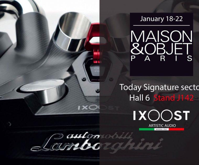 iXOOST - cool speakers - attends Maison&Objet 2019