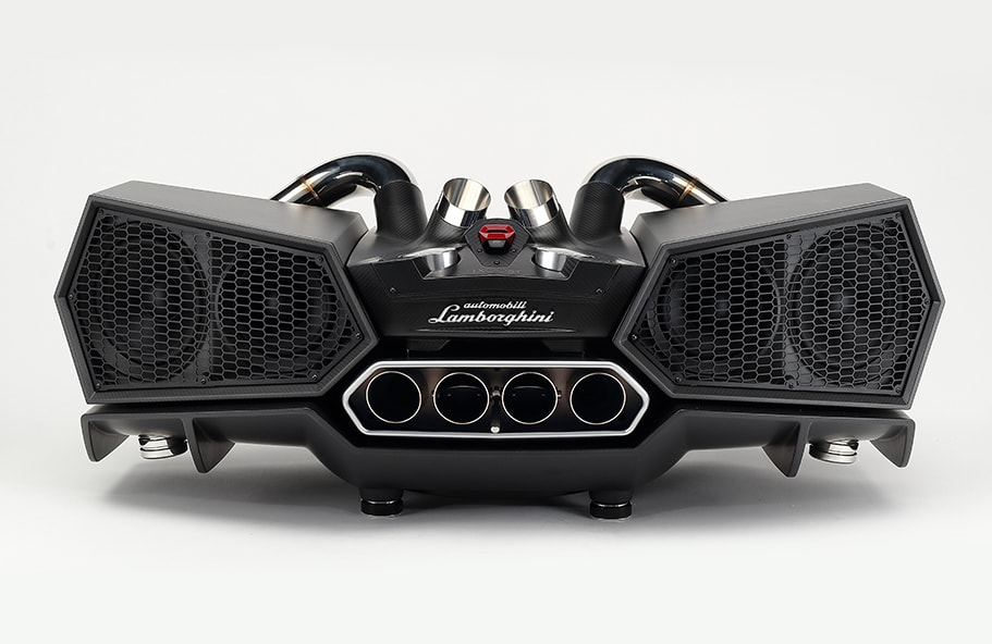 ESAVOX - Aldebaran Black impianto stereo bluetooth di design