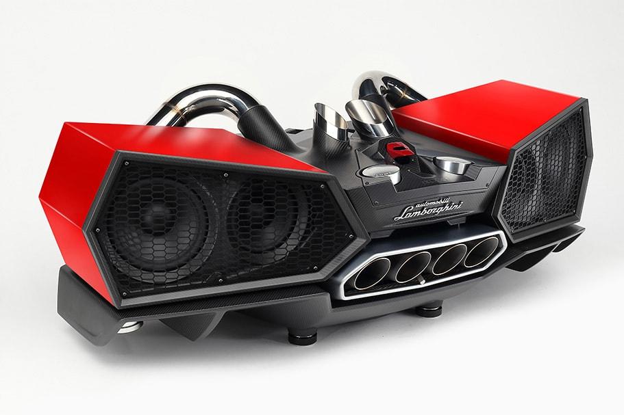 ESAVOX - Mars Red impianto hi-fi con altoparlante Bluetooth
