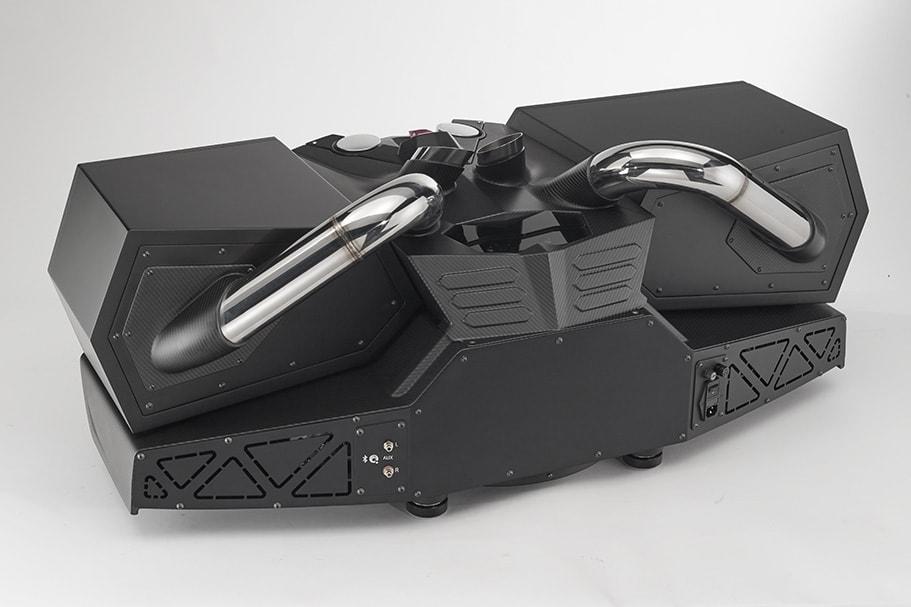 ESAVOX - Aldebaran Black impianto audio da casa di lusso