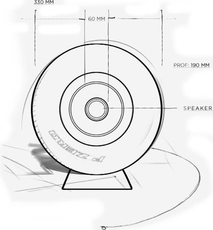 Pirelli P ZERO™ Sound casse audio di lusso