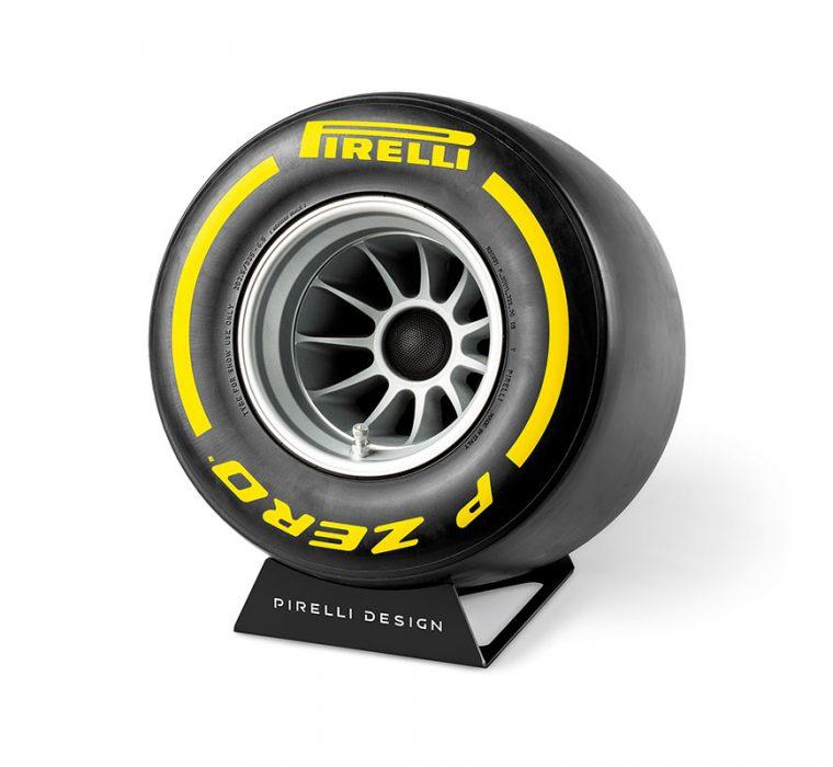 Pirelli P ZERO™ Sound Yellow unique bluetooth speakers