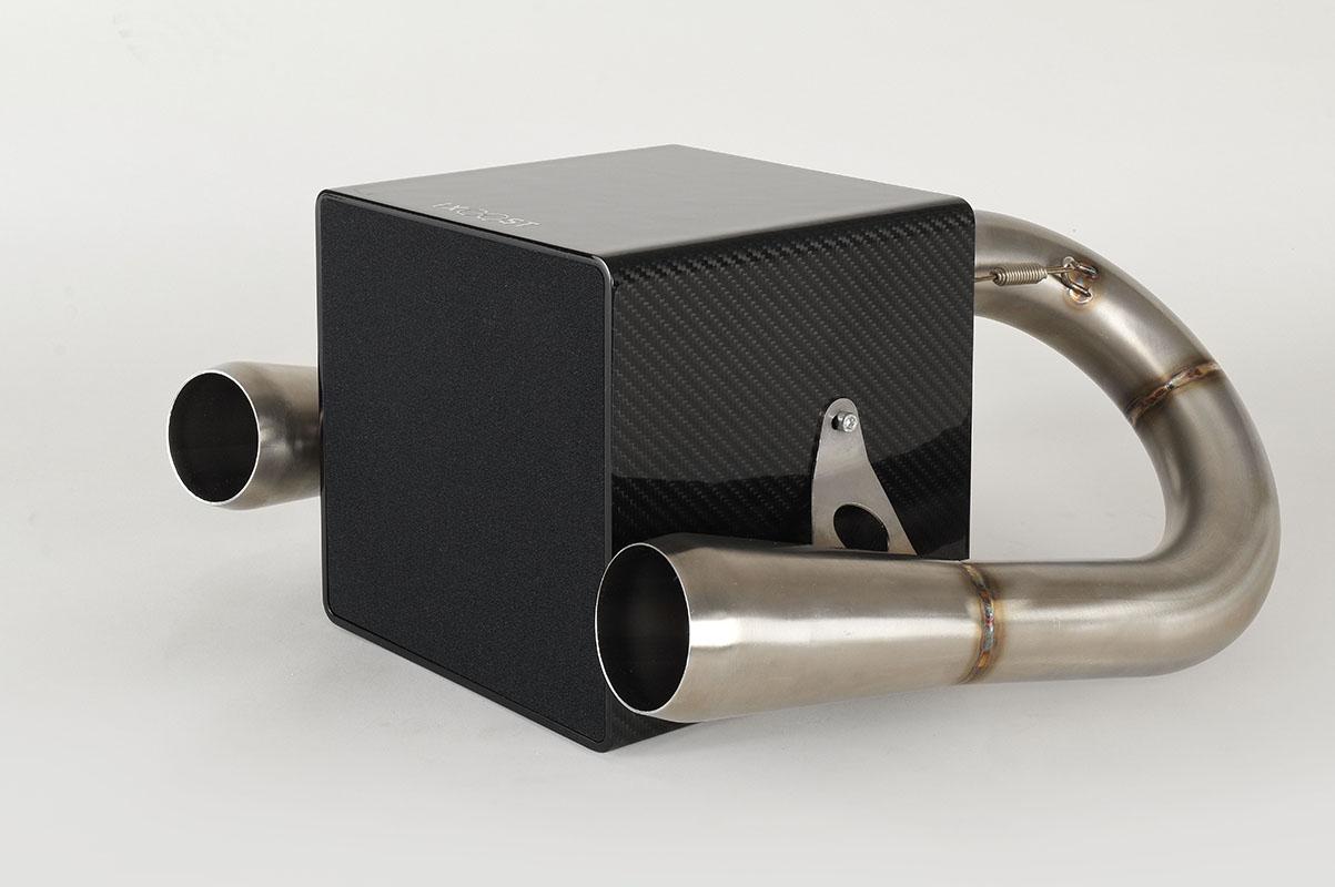 iXOOST KUBO Carbon impianto hi-fi Bluetooth per suono sorprendente
