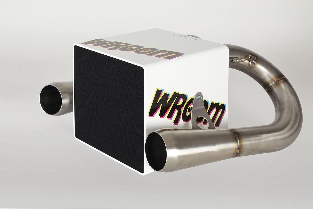 iXOOST KUBO Wroom impianto hi-fi con altoparlante Bluetooth