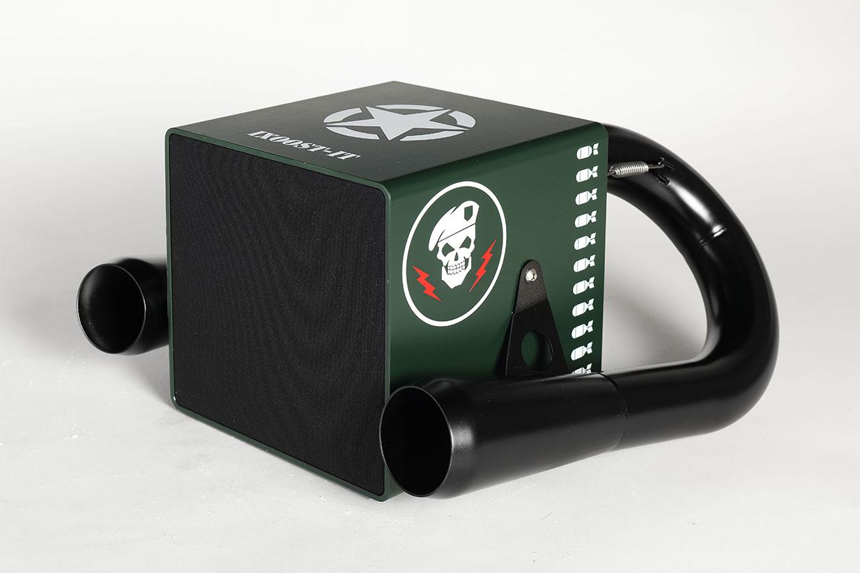 iXOOST KUBO A Team impianto stereo bluetooth di lusso