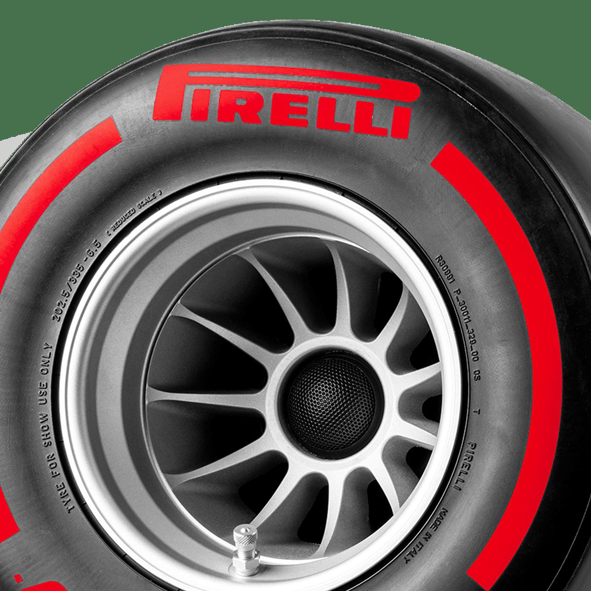 Pirelli P ZERO™ casse acustiche colore rosso