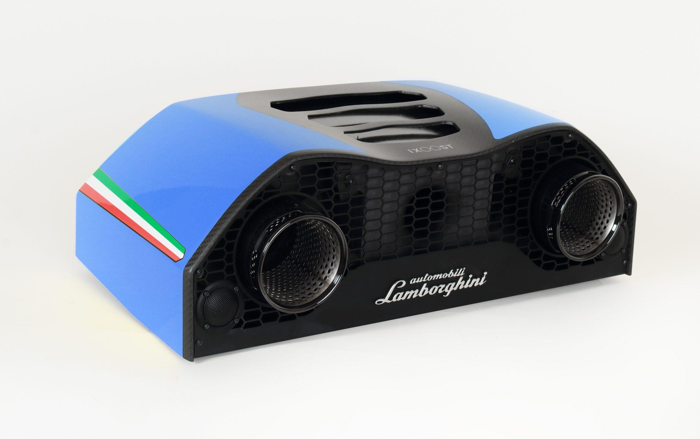 IXOOST Lamborghini™ AVALÁN Cepheus Blue - Bluetooth® 4.0 – aptX® decoding