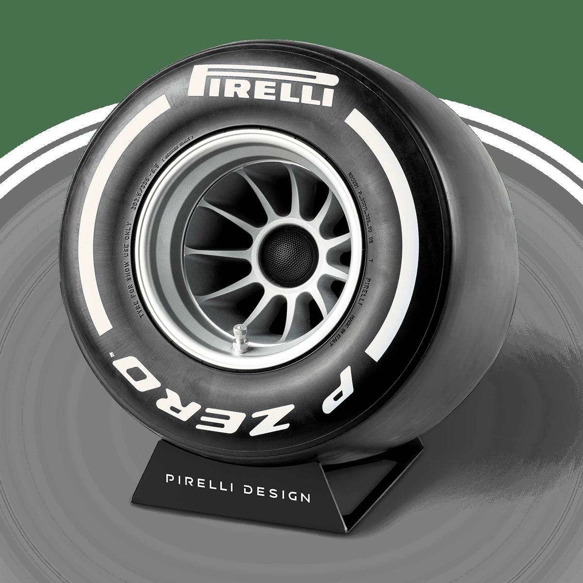 Pirelli P ZERO™ impianto stereo di design colore bianco