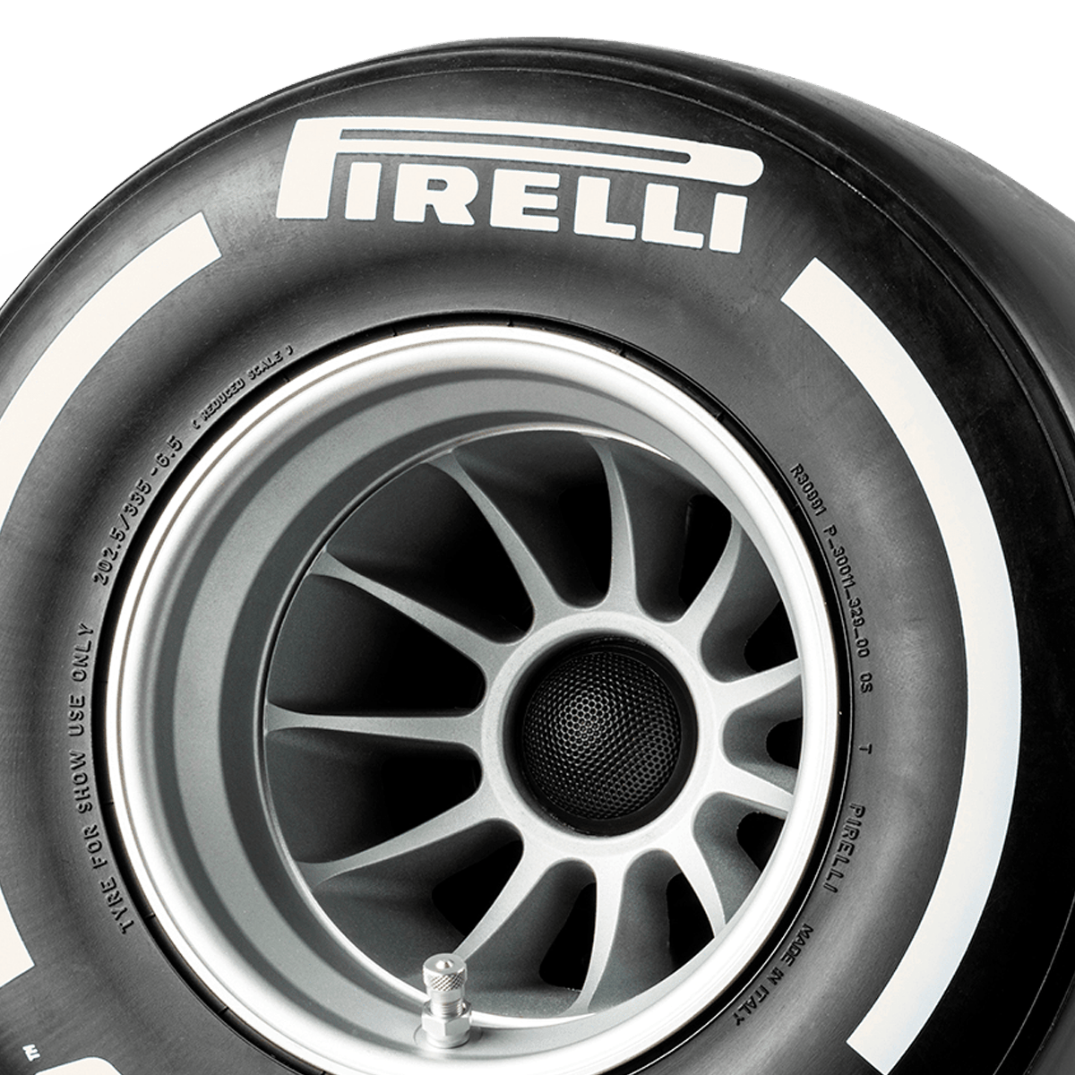 Pirelli P ZERO™ casse acustiche colore bianco