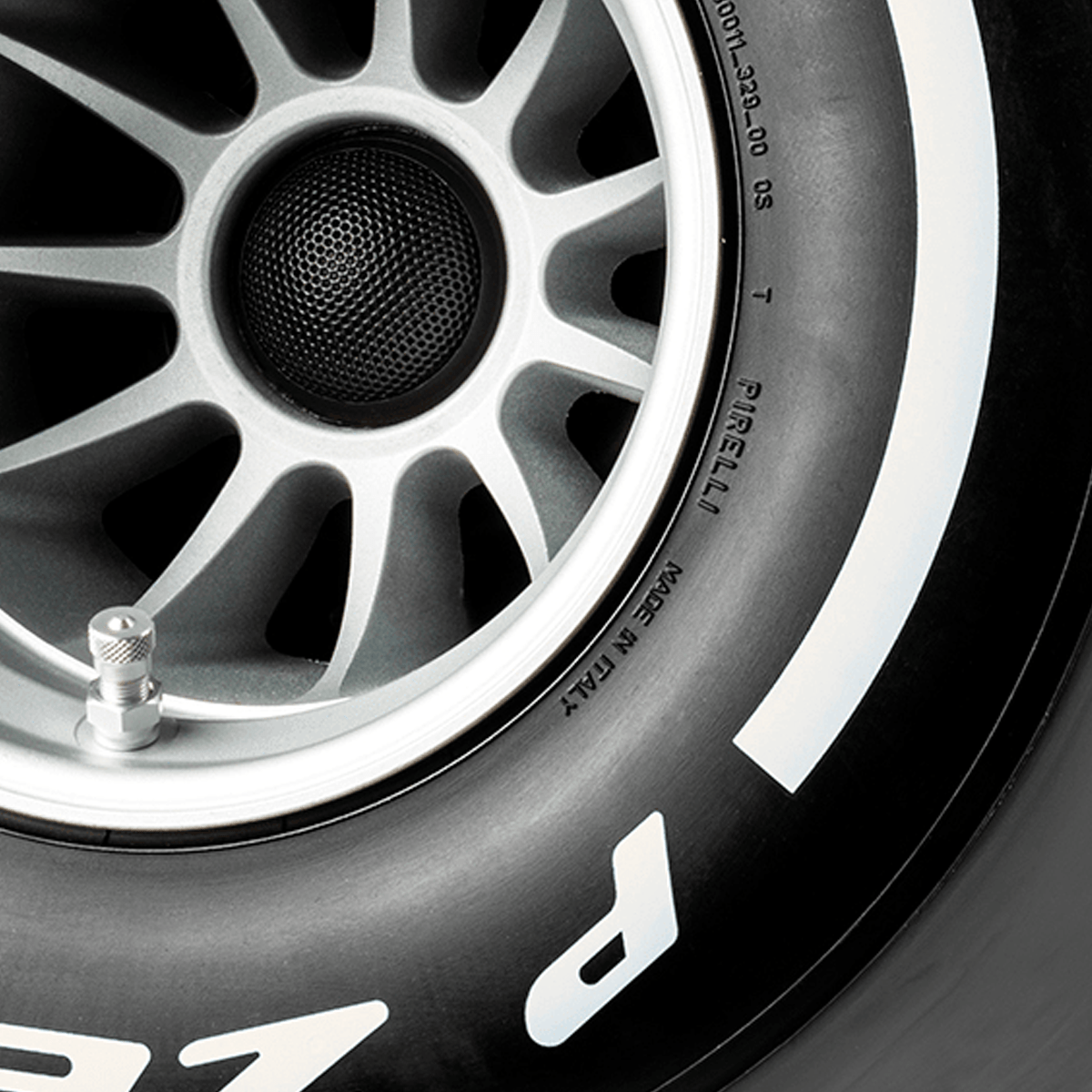 Pirelli P ZERO™ casse audio colore bianco