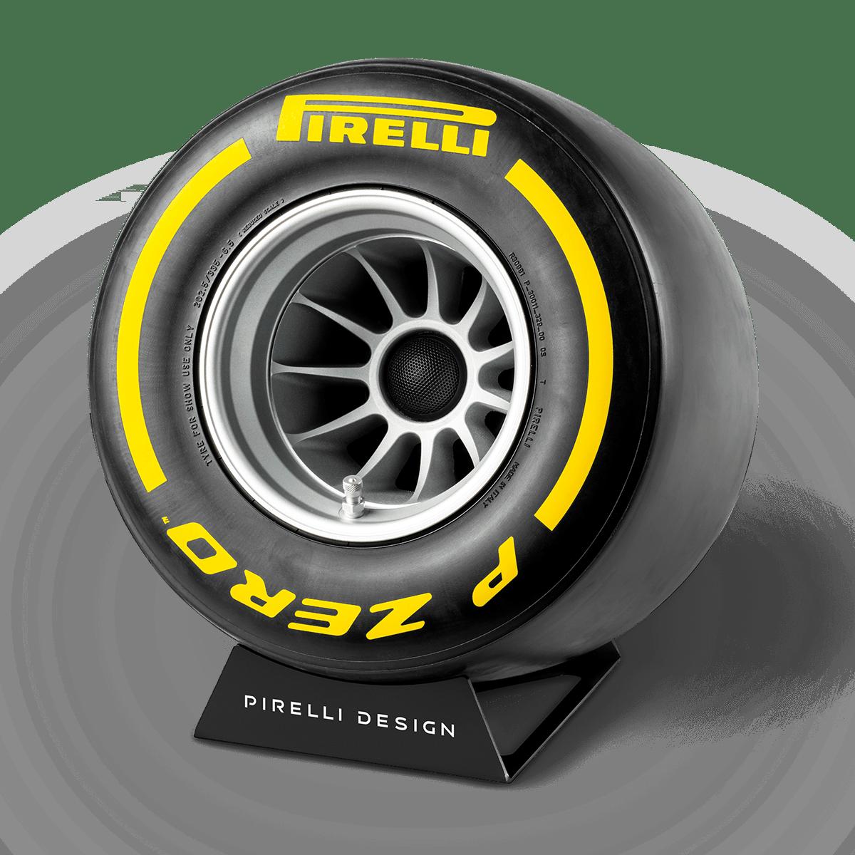 Pirelli P ZERO™ impianto audio casa colore giallo