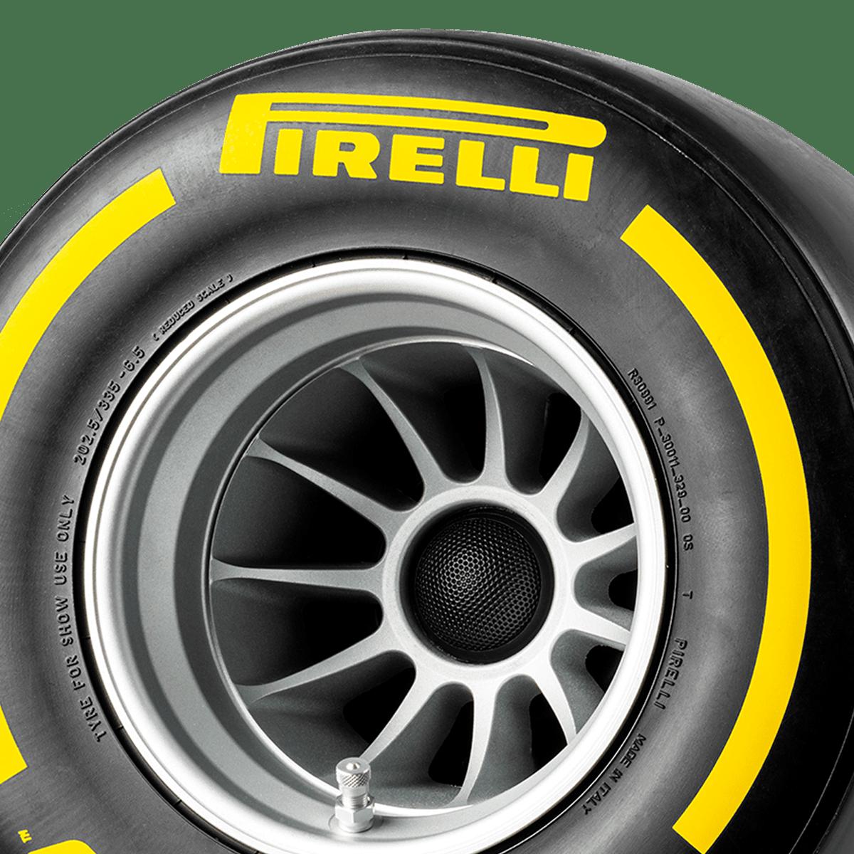 Pirelli P ZERO™ hi-fi di lusso colore giallo