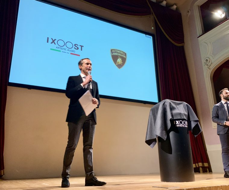 World Premiere iXOOST AVALÁN - impianti stereo di design Lamborghini™