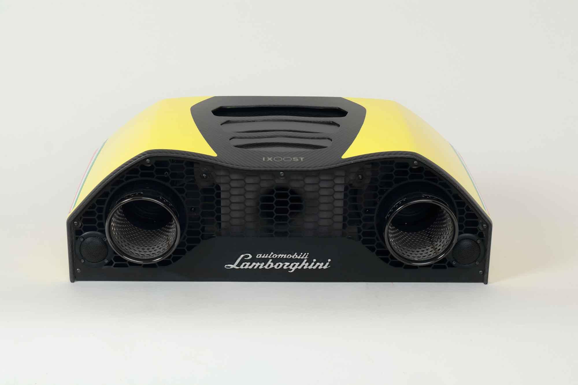iXOOST AVALÁN Evros Yellow - Lamborghini™ stereo system