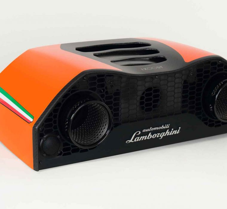 iXOOST AVALÁN Forged Carbon - home sound system - Original Huracán Performante Lamborghini™