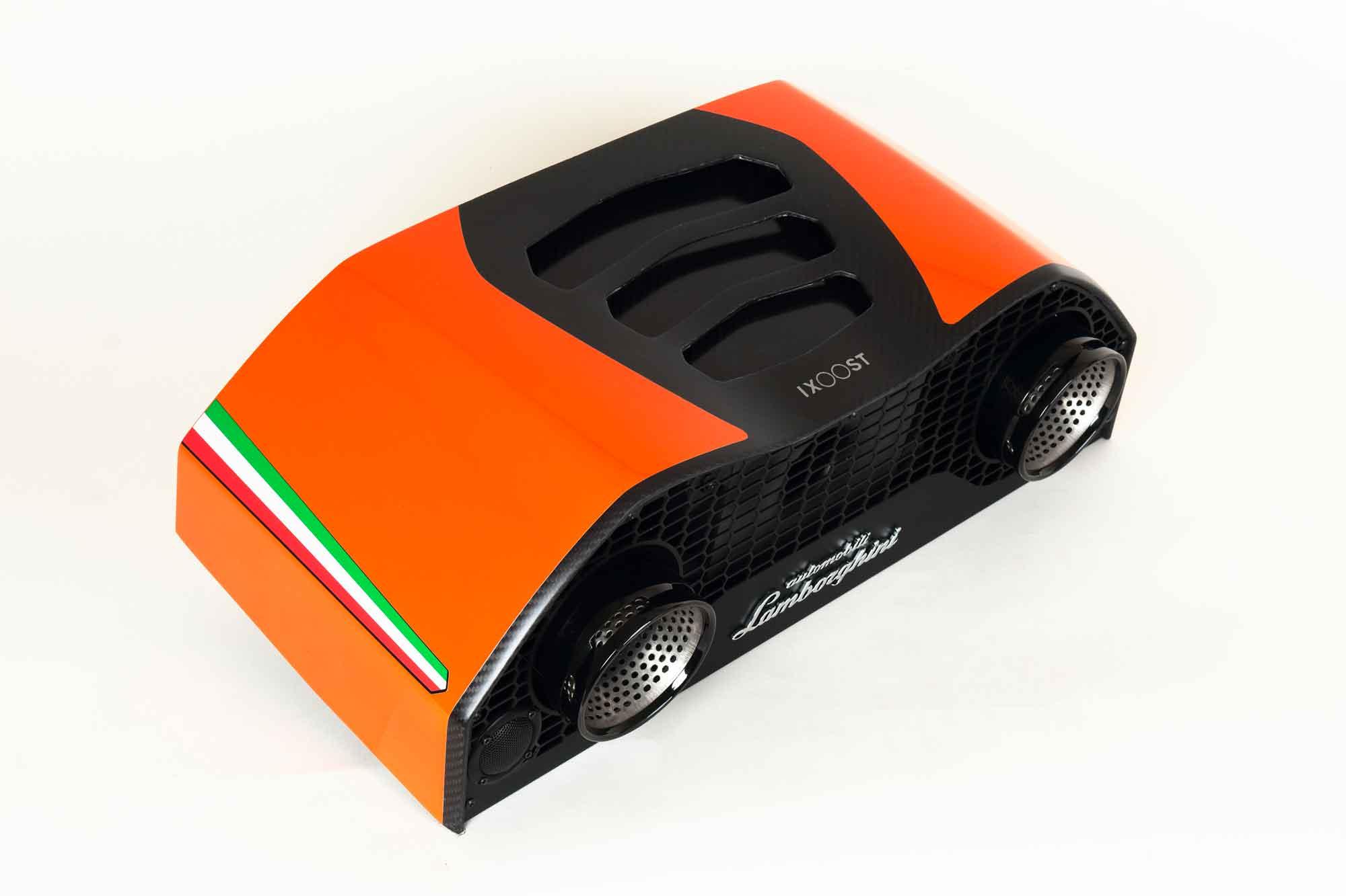 iXOOST AVALÁN Atlas Orange impianti stereo di design