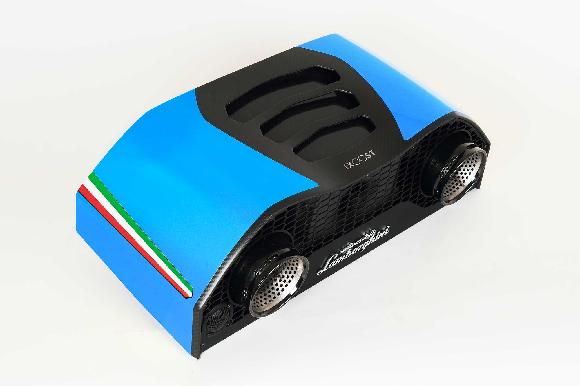 iXOOST AVALÁN Cepheus Blue impianti audio da casa di lusso Lamborghini™