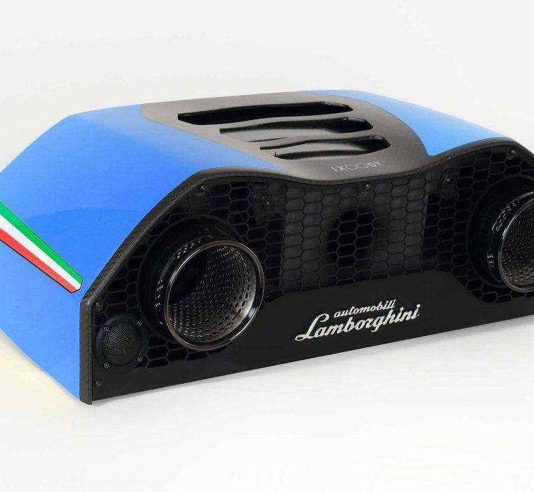 iXOOST AVALÁN Cepheus Blue Lamborghini™ luxury home speakers
