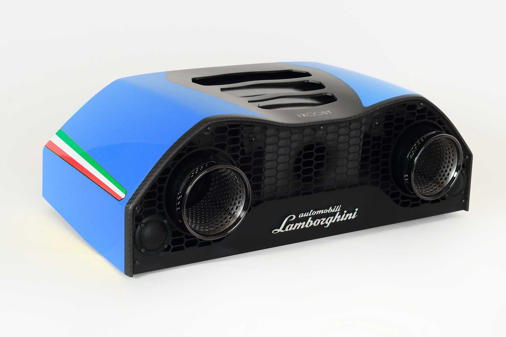 iXOOST AVALÁN Cepheus Blue impianto audio casa Lamborghini™