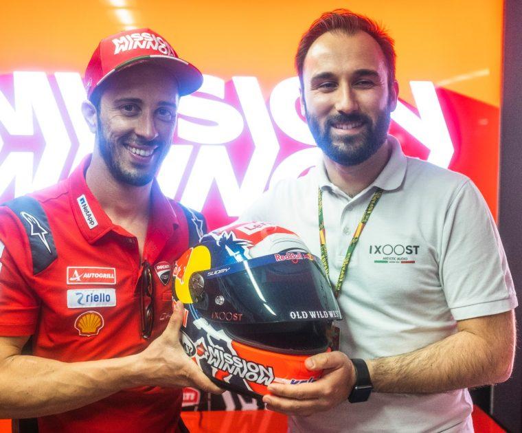 Festeggiamenti per la 200esima gara in MotoGP di Andrea Dovizioso