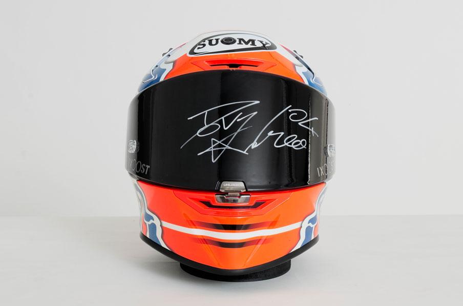 DOVI#04 SOUND - casco bluetooth autografato da Andrea Dovizioso