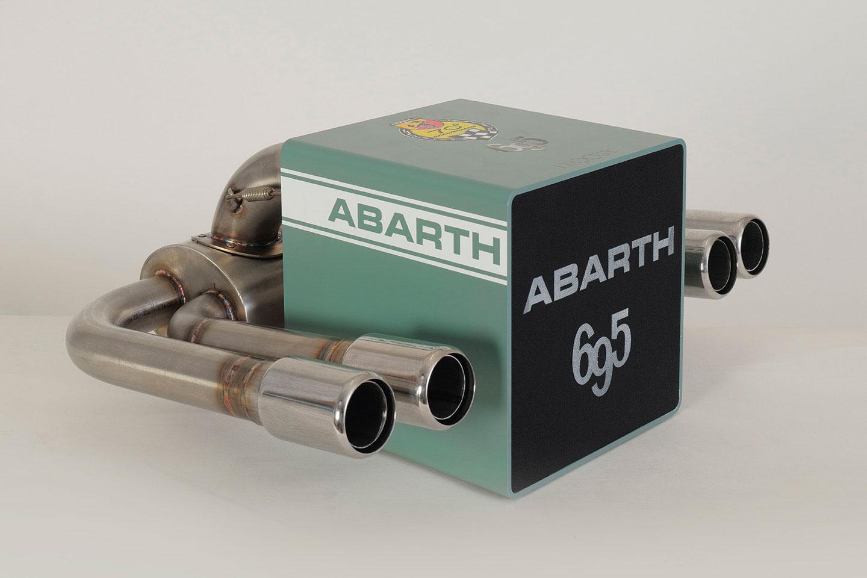 iXOOST KUBO ABARTH 695 impianto audio da casa di lusso