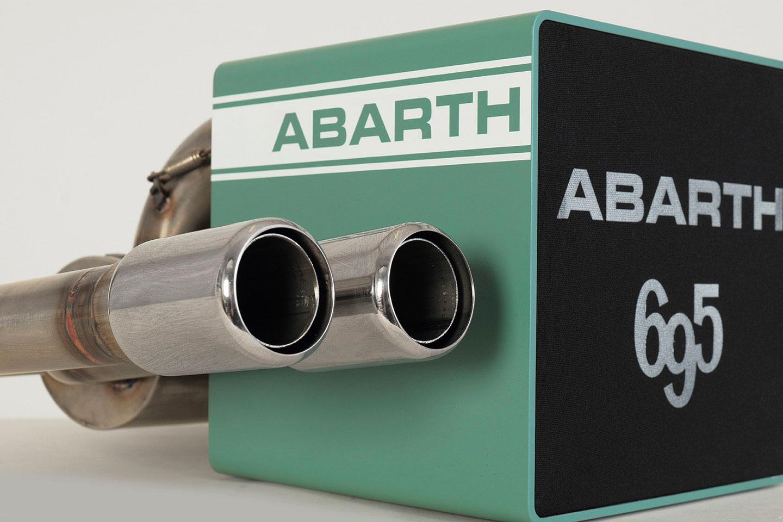 iXOOST KUBO ABARTH 695 esclusivo sistema audio