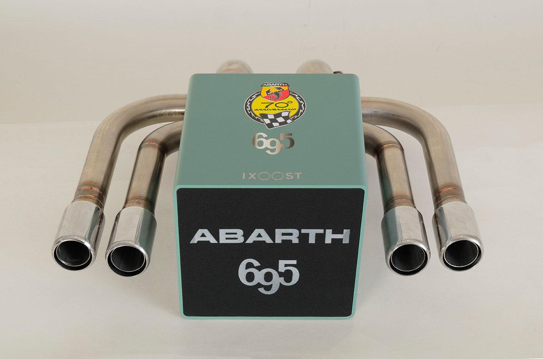 iXOOST KUBO ABARTH 695 impianto stereo di design
