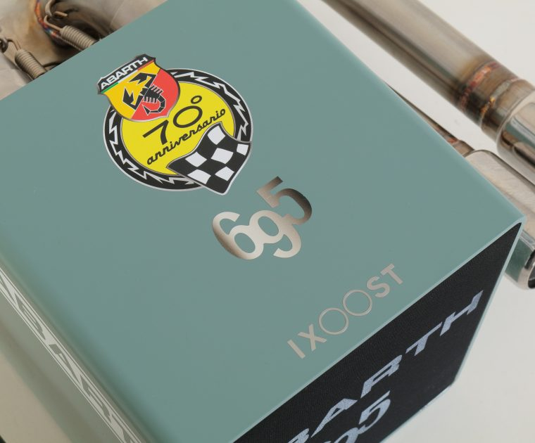 Impianto audio Bluetooth di lusso - iXOOST KUBO ABARTH 695