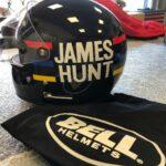 James Hunt's original Helmet Speaker Bluetooth