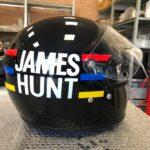 James Hunt's original Helmet Speaker