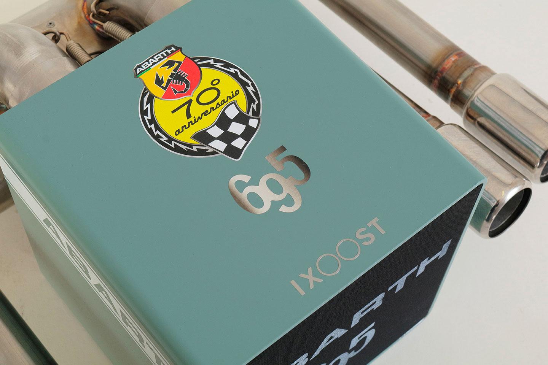iXOOST KUBO ABARTH 695 impianto audio Bluetooth di lusso