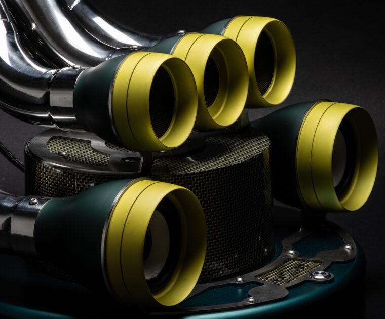 XiLO Carbon Kevlar impianto audio di lusso - versione speciale